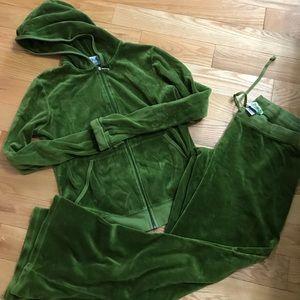 Juicy couture terry tracksuit jacket XL, pants L
